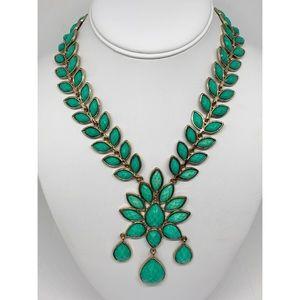 Amrita Singh Dune Green Necklace